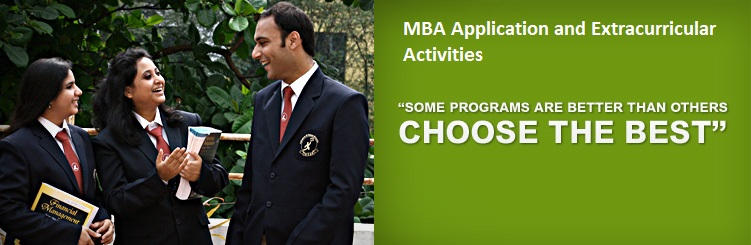 MBA Application and Extracurricular Activities