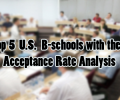 Top 5 U.S B-Schools & Their Acceptance Rate Analysis